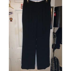 Black Le Suit Slacks